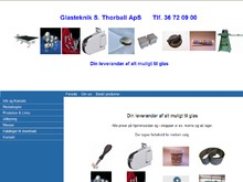 S.THORBALL ApS, GLASTEKNIK